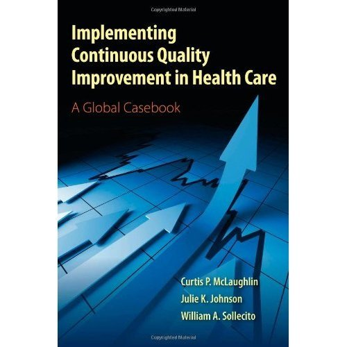 Implementing Continuous Quality Improvement In Health Care: A Global Casebook by Curtis P. McLaughlin (2011-04-21)
