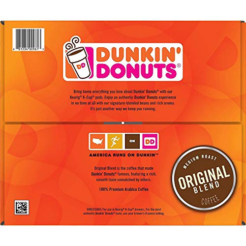 Dunkin' Donuts Original Blend Coffee Pods 72 Count by Dunkin' Donuts (Image #1)