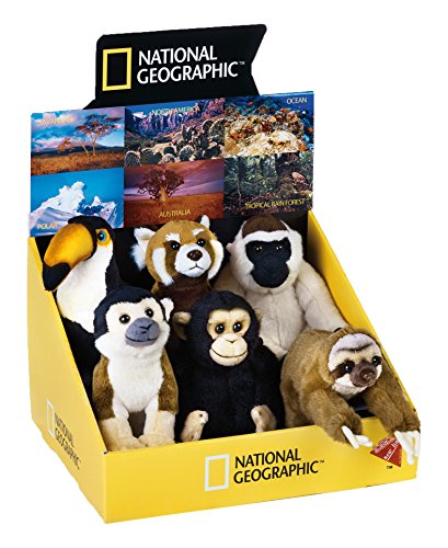 National Geographic 6 Piece Tropical Wild Life Baby Anima...