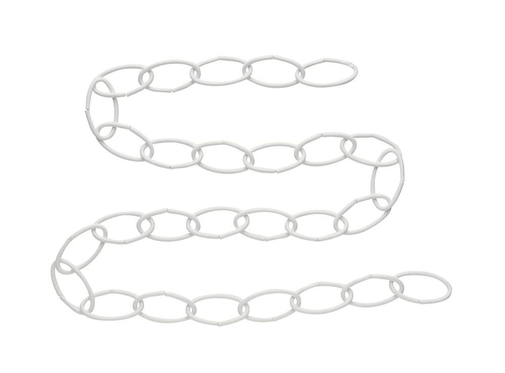 National Hardware 36 Wht Extension Chain White 6 Pack