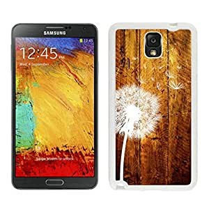 Slim cover case for Galaxy Note 3 Case, Spigen Slim Armor for Galaxy Note 3 - Retail Packaging - Soul White Dandelion Samsung Galaxy Note 3 Case White Cover