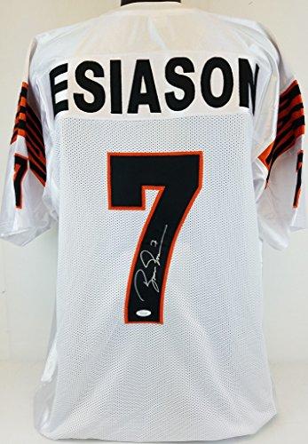 boomer-esiason-bengals-signed-white-jersey-jsa-witness-autograph-wp29088