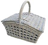 Provence Open Weave Empty Picnic Basket
