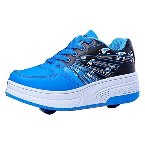 Girls Wheel Roller Skates Sneakers product image