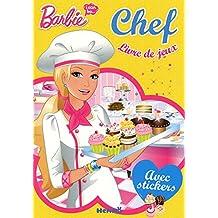 """""""livre de jeux (visuel vert) ; Barbie i can be"""""""