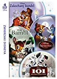Disney's Animals Boxset (101 Dalmatians, Lady and the Tramp, Bambi, Aristocats) (BOX) [4DVD] (English audio. English subtitles)