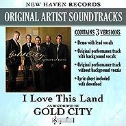 I Love This Land (Performance Tracks) - EP
