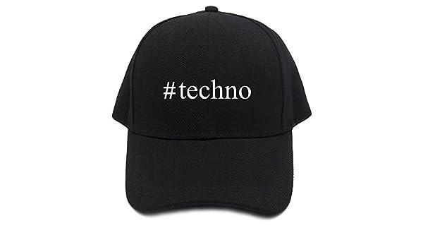 Teeburon Techno Hashtag Gorra De Béisbol: Amazon.es: Ropa y accesorios