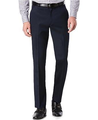 42a8ba7fe7 TM Exposure Men's Premium Slim Fit Dress Pants Slacks at Amazon ...