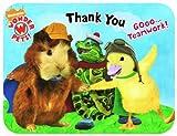 8 Wonder Pets Die-Cut Thank You Notes