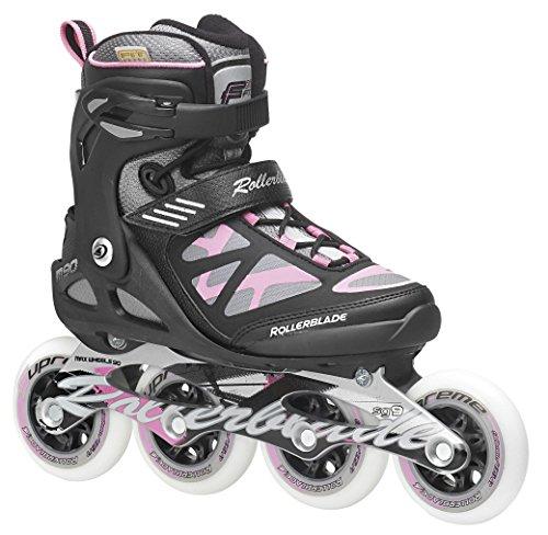 Rollerblade Damen Inlineskate Fitness Recreational Macroblade 90 W, Schwarz/Pink, 41, 07355500 ZY9