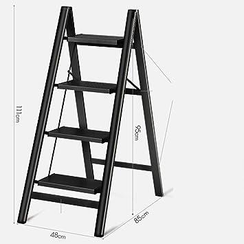 LADDER Escalera Escalera de Aluminio Escalera Plegable Escaleras Escalera de Luz Hogares de Propósitos Múltiples Escaleras Plegables Escal: Amazon.es: Bricolaje y herramientas