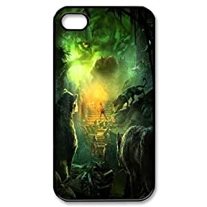 iPhone 4,4S Cases, DDdiy The Jungle Book Custom Hard Back Cover Case for iPhone 4,4S