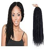"Befunny 8Packs 14"" Senegalese Twist Crochet Hair Short Braids Small Havana Mambo Twist"