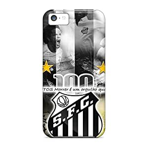 High-end Case Cover Protector For Iphone 5c(santos Fc)
