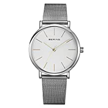 Watch Bering Classic Collection 13436-001 Silver Steel Quartz Man