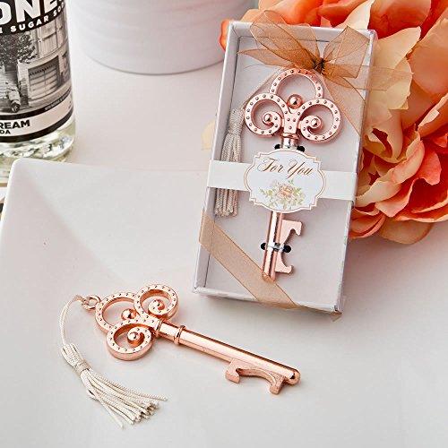 Cheap Rose Gold Vintage skeleton key bottle opener from fashioncraft