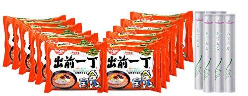Nissin Ramen Noodle, Miso Tonkotsu Pork Instant Noodles With Soup Base, 12 Pack (Miso ()