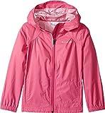 Columbia Little Girl's Switchback Rain Jacket, Pink Ice, S