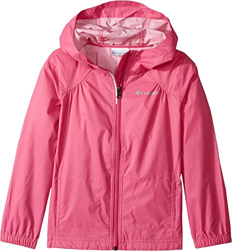 Pink Girls Jacket (Columbia Big Girl's Switchback Rain Jacket, Pink Ice, M)