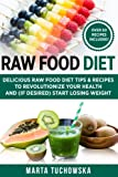 Raw Food Diet: Delicious Raw Food Diet Tips & Recipes to Revolutionize Your Health and (if desired) Start Losing Weight (Weight Loss, Clean Eating, Alkaline Diet Book) (Volume 1)