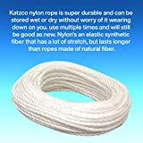 Nylon Rope Twisted Solid Braided 1 Roll of Inch x
