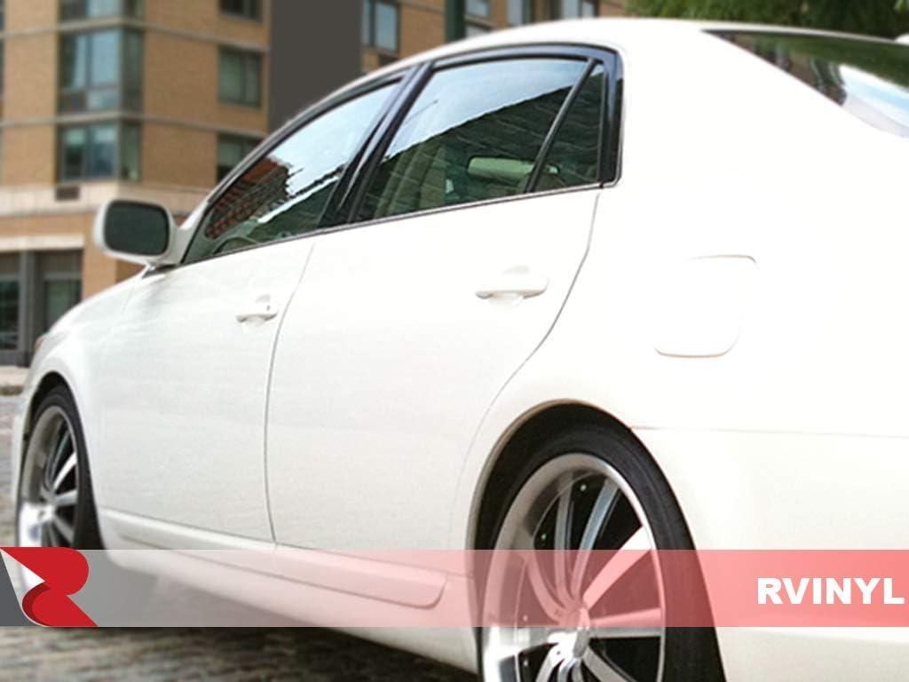 Rvinyl Rtrim Pillar Post Decal Trim for Toyota Rav4 2001-2005 Gloss Black