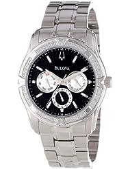 Bulova Men's 96E115 Diamond Case Watch Set