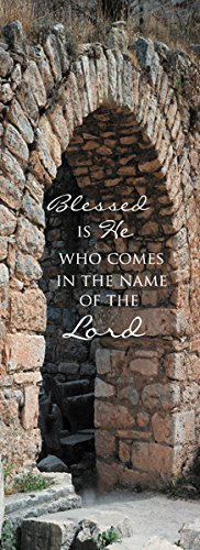 Blessed Is He Lenten Banner by US Gifts