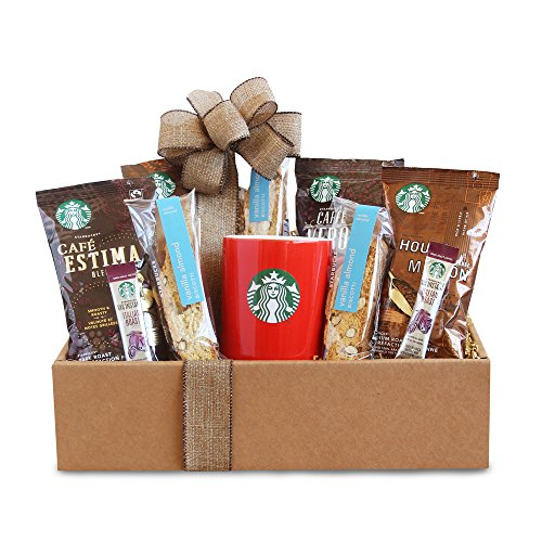 Coffee Gift Box (California Delicious Starbucks Coffee Mornings Gift Box, 3.0 Pound)