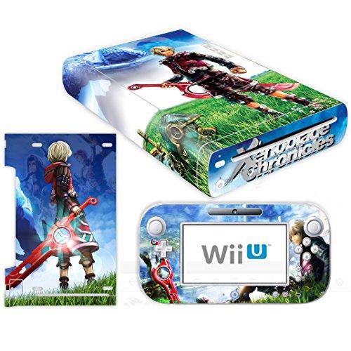 Skin Vinyl Wii - Vanknight Vinyl Decal Skin Sticker for Wii U Console and Controller