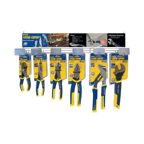 12 Pc. Pliers & Wrench Display by Petersen Visegrips