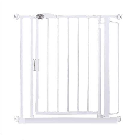 Z-SEAT White Gate Niño, Escalera Seguridad De La Puerta De La Cerca con La Función De Cierre Automático, La Puerta De La Seguridad del Bebé De La Casa, Puertas Y Pasillos: Amazon.es: