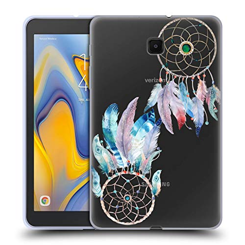 Official Kristina Kvilis Beads Dreamcatchers 2 Soft Gel Case Compatible for Galaxy Tab A 8.0 (2018)