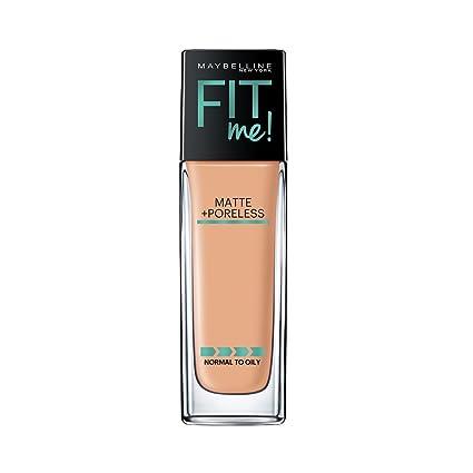 b597fa6b3923 Buy Maybelline New York Fit Me Matte+Poreless Liquid Foundation