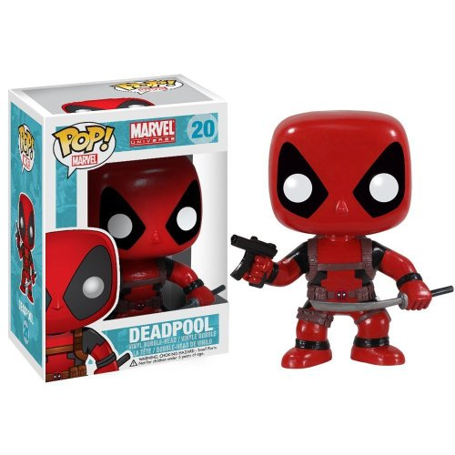 Deadpool Pop! Vinyl Figure Brand New / Rare Marvel Classic #20