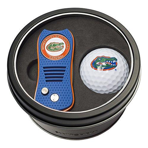 NCAA Florida Gators Tin Gift Set with Switchfix Divot Tool and Golf (Florida Gators Tool)
