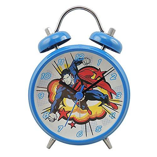 Joy Toy 106295/ /Despertador dise/ño Superman Metal Azul 9/x 4,5/x 13/cm