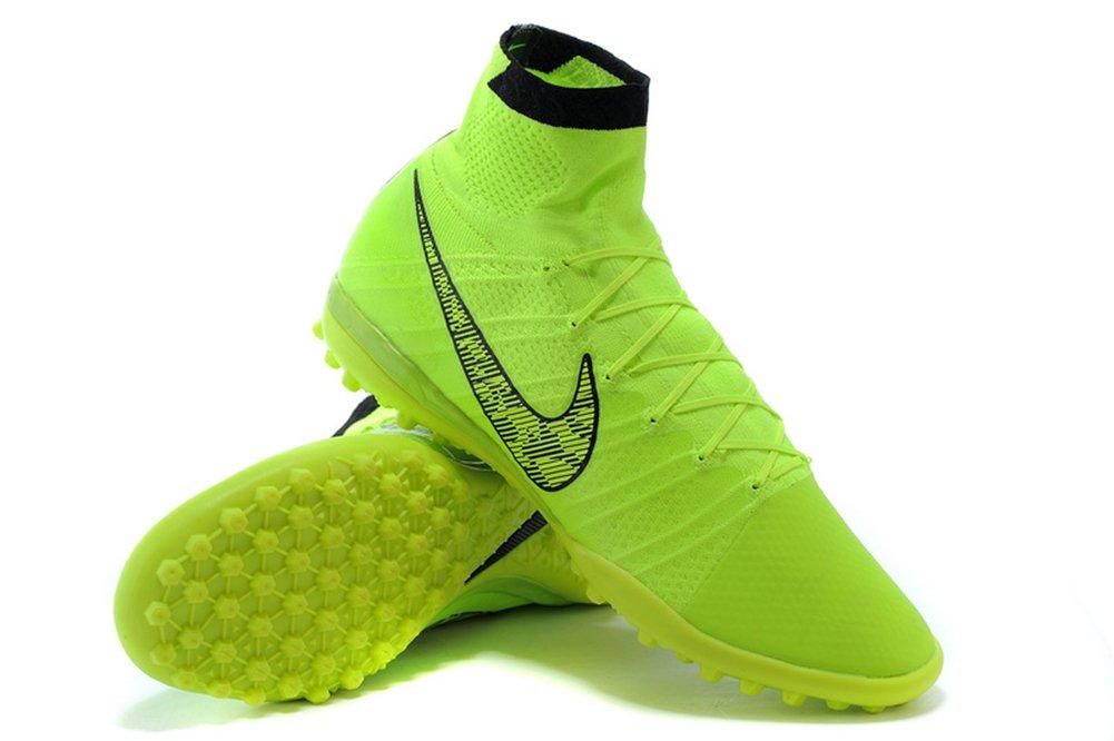 Haovetre Schuhe Herren Fußball Elastico Superfly TF fluoreszierend greensoccer Stiefel