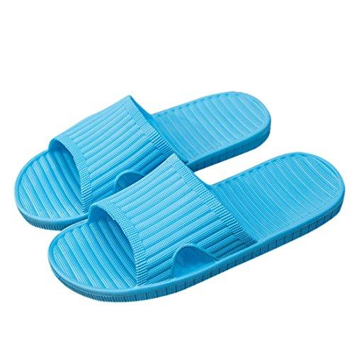 Indoor Shower Bath Unisex Jiyaru Summer Men Women Outdoor Slippers Shoes Women for Blue qYXYw0H