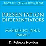 Presentation Differentiators: Maximising Your Impact | Rebecca Newton