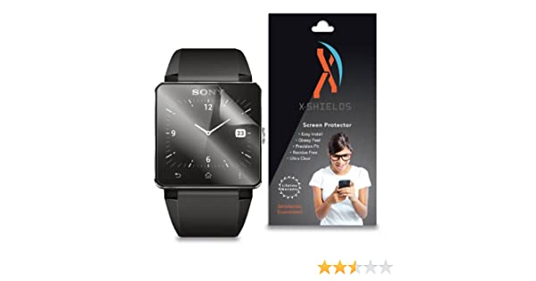 XShields (4-Pack) Screen Protectors for Sony Smartwatch 2 SW2 (Ultra Clear)