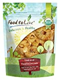 Organic Dried Pineapple Rings — Non-GMO, Unsulfured, Unsweetened, Bulk (by Food to Live) 1 Pound