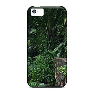 Iphone 5c Case Slim [ultra Fit] The White Tiger Protective Case Cover