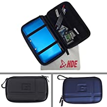 HDE Hard Travel Case Cover for Nintendo DS & 3DS (Original & XL) + Microfiber Cleaning Cloth