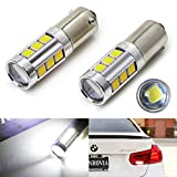 h21 bulb - iJDMTOY (2) 360 Degrees Xenon White 13-SMD H21W LED Replacement Bulbs For 2016-up LCI BMW F30 3 Series Backup Reverse Lights ONLY