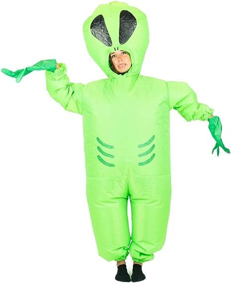 Bodysocks® Disfraz Hinchable de Extraterrestre Adulto: Amazon.es ...