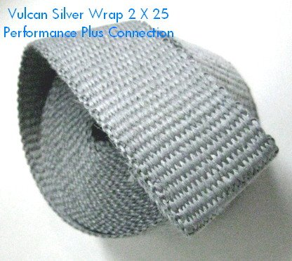 "Vulcan Thermo Header Exhaust Wrap 2"" x 25' Roll Colored (Moose Pipe)"