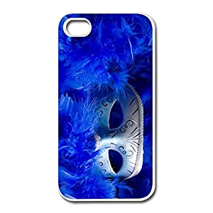 IPhone 4 4s Case Shell Masquerade Mask,Customize Your Own Cute Skin For IPhone 4 4s