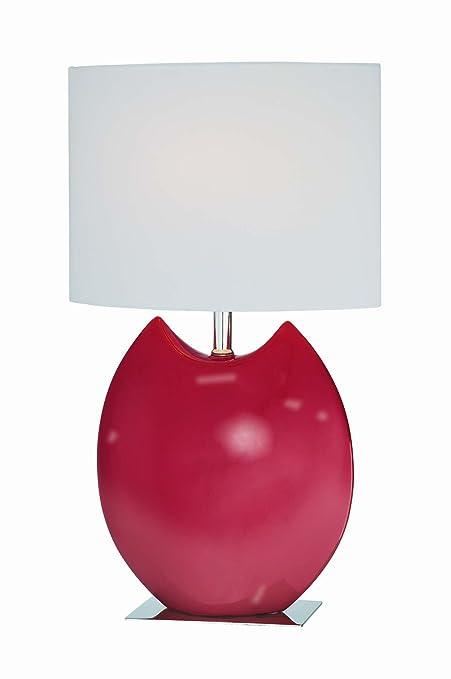 Amazon.com: Lite Fuente Spazio lámpara de mesa de cerámica ...